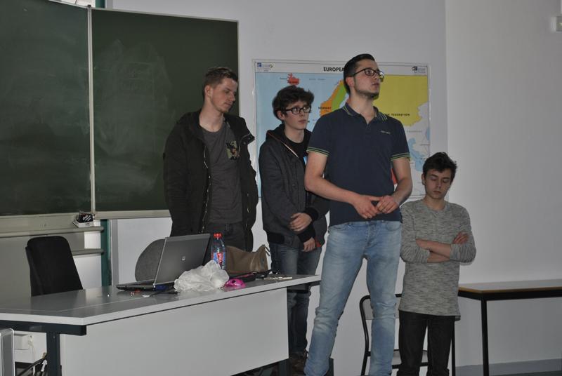 Présentation des projets tutorés par les étudiants GLT 11