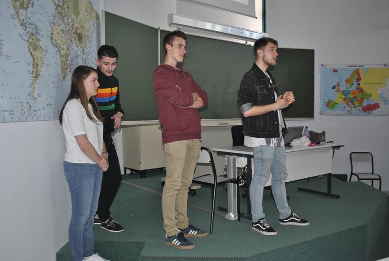 Présentation des projets tutorés par les étudiants GLT 5