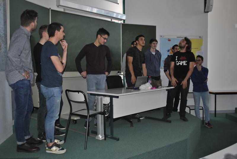 Présentation des projets tutorés par les étudiants GLT 7