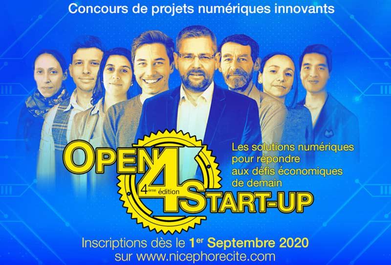 Vous êtes porteur d'un projet numérique innovant ? Participez à la 4ème édition de l'Open 4 Start-up organisé par Nicéphore Cité.